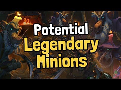 10 Potential Legendary Minions - Hearthstone
