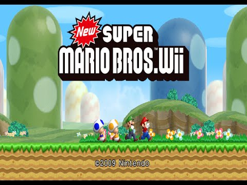 Nintendo Wii Longplay [021] New Super Mario Bros. Wii (Part 1 of 3)