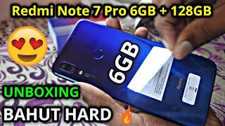 Redmi Note 7 Pro 6GB + 128GB Unboxing & Review By Technical MIA 👆👌🤘