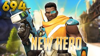 NEW HERO Baptiste: All You Need To Know! | Overwatch Daily Moments Ep.694 (Funny and Random Moments)