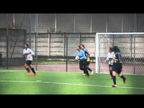 Penalty brillantemente parato dal N.1 Chiara Sassi (con tanto di esultanza)