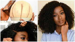 Faking A Lace Closure/ Frontal   3 INVISIBLE PARTS   No Knotless Crochet Braids    HerGivenHair