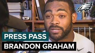Brandon Graham Answers: 'How Do You Get to Drew Brees?' | Eagles Press Pass