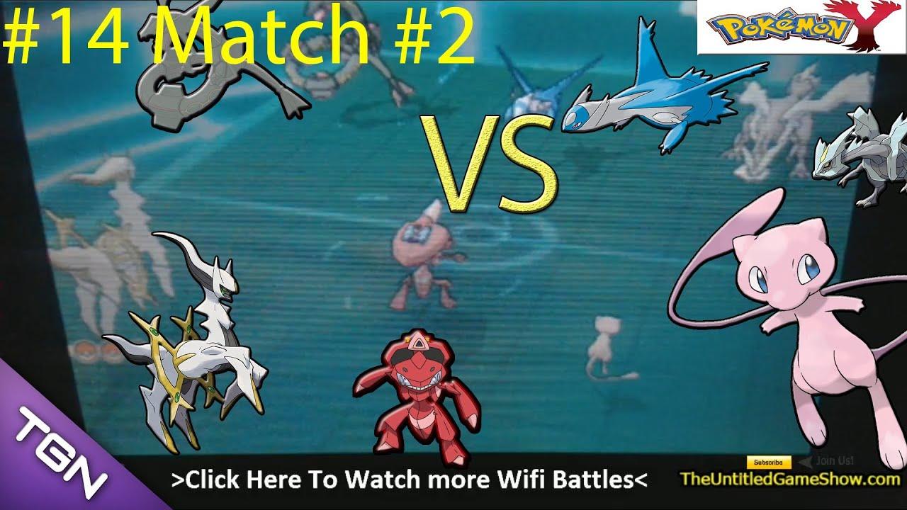 #2 Arceus Mew Shiny Genesect VS Shiny Rayquaza, Pokémon X ...
