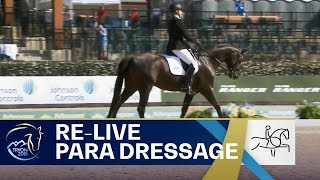 RE-LIVE Para-Dressage – Grade III Team | FEI World Equestrian Games 2018