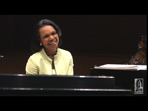 The Secretary Of State, The Instructor, And The Piano