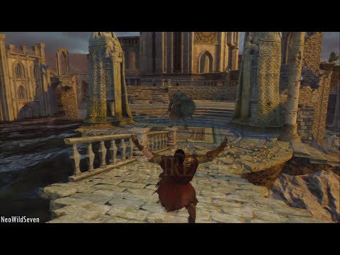 Dark Souls 2  - PC Ultra Settings PS3 Comparation - Same compression on Both Images