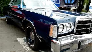'77 CHRYSLER NEWPORT COUPE WITH QUICK 400 V8 START UP