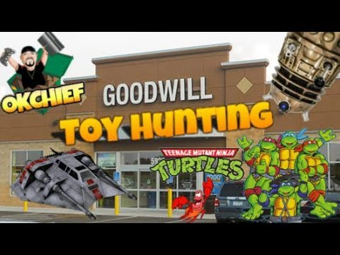 Okchief Toy Hunting EP. 80 My Thrifting Toy Haul