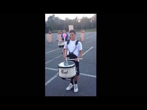 Garrard County High School 2013 Opening Snare solo