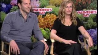 Julia Roberts and Bradley Cooper Valentine's Day interview