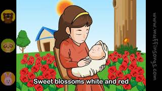Muffin Songs   Cradle Song Brahms's Lullaby  nursery rhymes & children songs with lyrics  muffin s