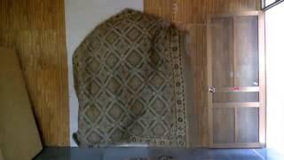 ảo thuật người biến mất với một tấm vải