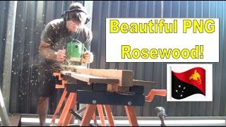 Building my steel sailing yacht Ep.22 PNG Rosewood timber for fit-out!