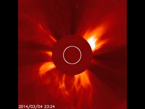 Coronal Mass Ejections - Lasco C2 (March 4-5, 2014)