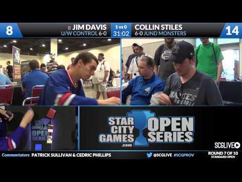 SCGPROV - Standard - Round 7 - Jim Davis vs Collin Stiles
