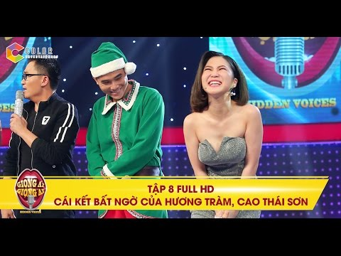 Giọng ải giọng ai | tập 8 full hd: Cái kết bất ngờ của Hương Tràm, Cao Thái Sơn trong đêm Giáng Sinh | giong ai giong ai