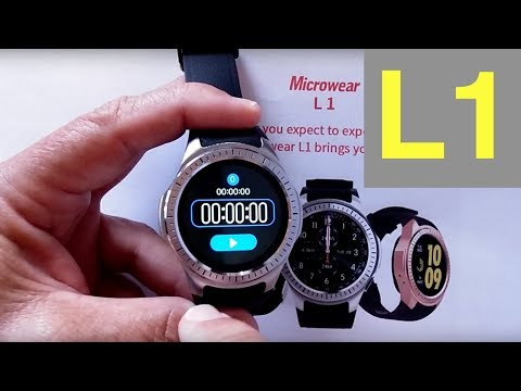 Microwear L1 Dual Mode Sports Smartwatch: Unboxing & 1st Look