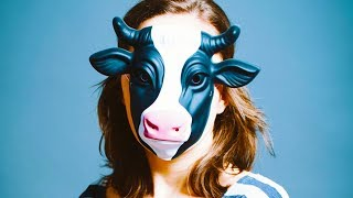 Why Women Are Wearing Cow Masks For Protection