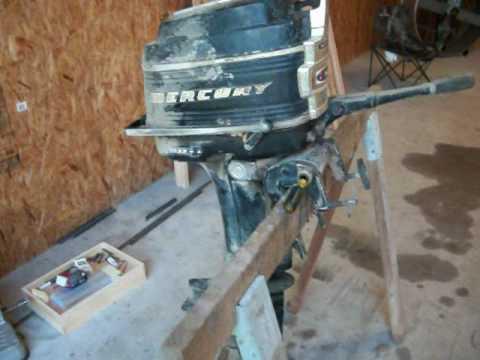 20 HP Mercury Boat Motor