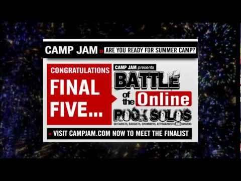 Camp Jam 2011 Battle of the Online Rock Solos Winners