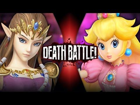 DEATH BATTLE! - Zelda VS Peach