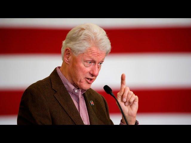"Bill Clinton unleashes attack on so-called ""Bernie Bros'"