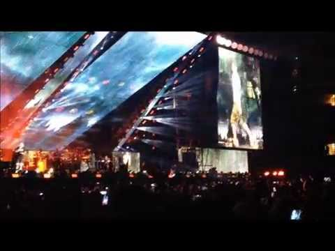 Eminem Rihanna Monster Tour - Opening Night - August 7, 2014 Rose Bowl (Clips of 10 songs)