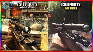 Call Of Duty WW2 vs Call Of Duty World At War