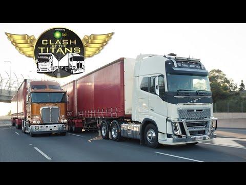 Kenworth vs Volvo Part Two | Clash of the Titans | Truck TV Australia