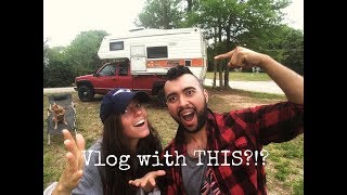 A New Vlog Camera For Our Truck Camper Lifestyle!