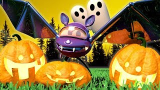 Baby Cars -  HALLOWEEN SPECIAL - The Giant bat in the Forest - Car City ! Trucks Cartoon for kids