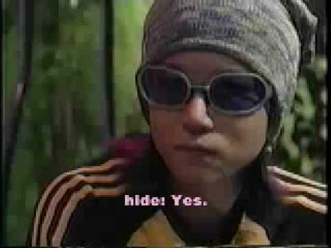 hide Interview Part One, May 1998. English subtitles.