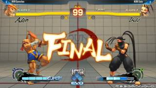 USFIV EVO 2014: SAKO (Ibuki) vs GAMERBEE (Adon) Top 32