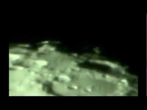 STRUCTURE on the MOON!! Recorded from a High Powered Telescope!!