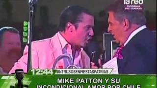 Mike Patton y su incondicional amor por Chile