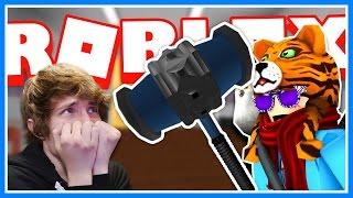 I HAVE A BAN HAMMER! BAN! BAN! BAN! | Roblox Knife Ability Test