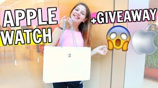 SHOPPING FOR 2 $400 APPLE WATCHES! ASMR UNBOXING VLOG & GIVEAWAY *WATERPROOF TESTED*