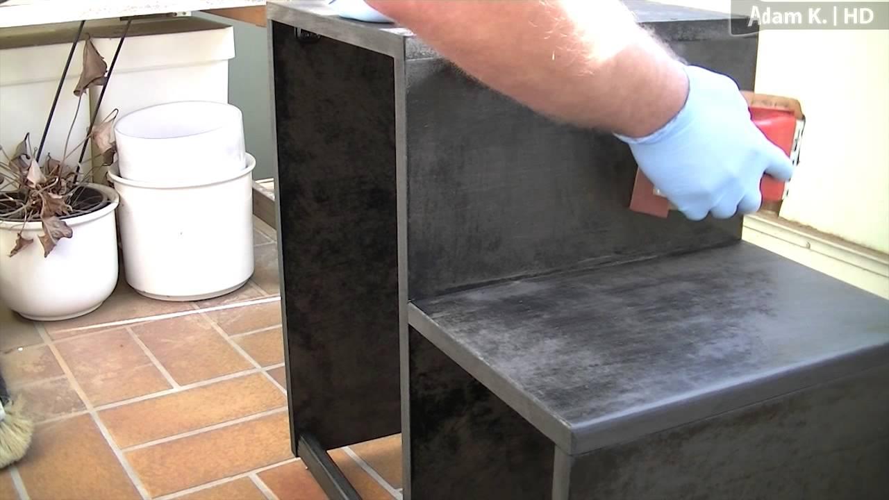 Hochglanz Tisch Lackieren :  Stuhl selber bauen und hochglanz lackieren (aus MDFPlatten)  YouTube