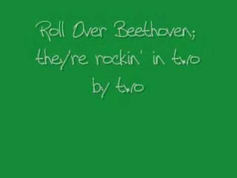 ELO(1515) - Roll Over Beethoven wlyrics