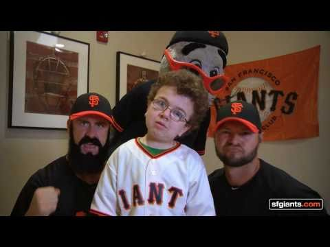 Dynamite(With Me and The SF Giants' Brian Wilson, Cody Ross & Mascot Lou Seal