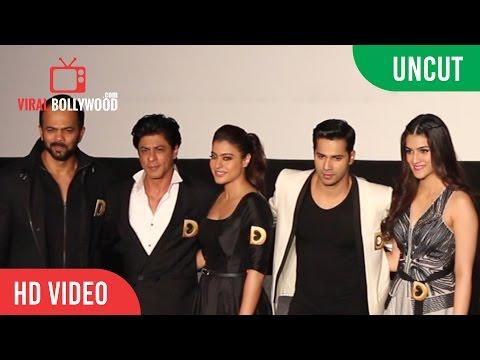 UNCUT - Dilwale Trailer Launch | Shah Rukh Khan | Kajol | Varun Dhawan | Kriti Sanon