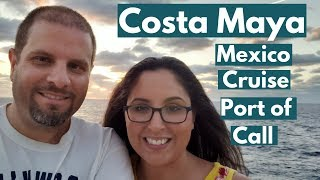 Exploring Costa Maya, Mexico Cruise Port | Beach, Snorkeling, Excursions