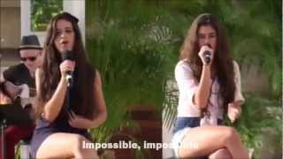 Fifth Harmony - Impossible (With Lyrics)