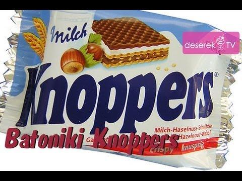 █▬█ █ ▀█▀ Jak Zrobić Batoniki Knoppers - Deserek.TV