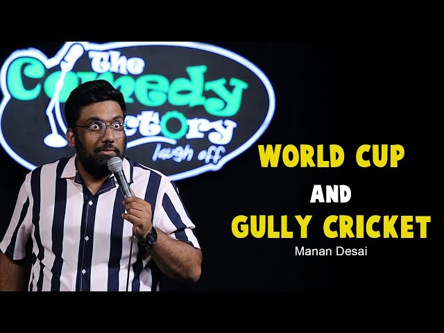 World Cup and Gully Cricket   Stand-Up Comedy by Manan Desai thumbnail