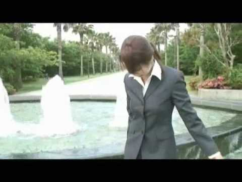 Japanese WETLOOK movie, 'Playing with water 1'( DVD's sample movie )