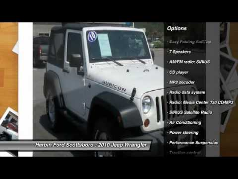 2010 Jeep Wrangler Scottsboro AL 7T007I