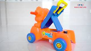 Đồ Chơi Trẻ Em Xe Đẩy Tập Đi Con Chó K3
