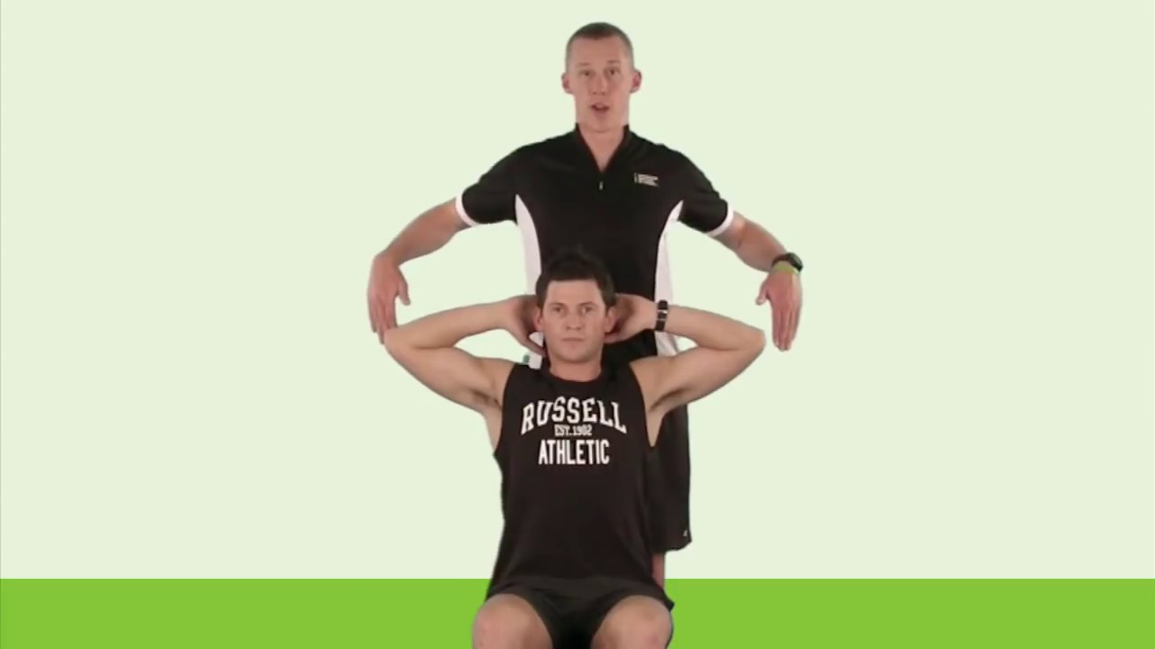 Stretching: Chest PNF (Hold-Relax) - YouTube